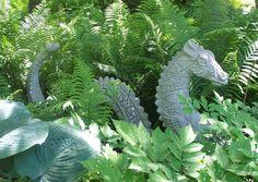 Shade Garden Plants   Hidden Gem of a Garden in Northville, Michigan   Sandies Off the ...