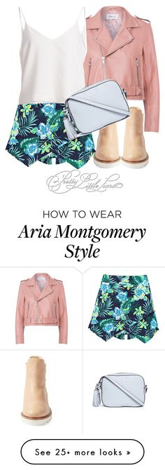 Designer Clothes, Shoes & Bags for Women Pll Outfits, Casual Outfits, Aria Style, My Style, Luci Hale, Aria Montgomery Outfit, Pretty Little Liars Outfits, Fashion Beauty, Fashion Looks
