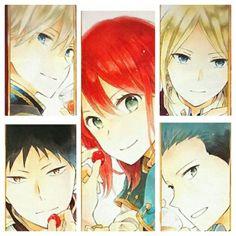 Manga Anime, Me Anime, Manga Art, Anime Art, Zen Wisteria, Akagami No Shirayukihime, Snow White With The Red Hair, Anime Rules, Thick Hair