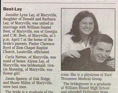 Best - Lay   funny wedding announcements | 15 Most Unfortunately Funny Wedding Announcements