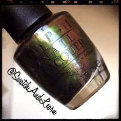 This is OPI Green on the Runway from the Coca-Cola Collection out in June! Reviews and swatches will soon be available on SwatchAndLearn.com!