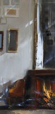 Jean Arcelin - site officiel - Peintre - Portraitiste - Tous SES tableaux - Huile sur toile - Paris - Intérieurs