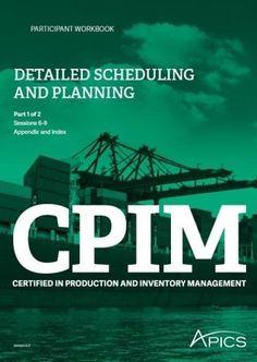 Curso APICS DSP Detailed Scheduling and Planning no dia 22/junho. Inscreva-se: