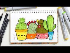 doodle cactus - Cerca con Google