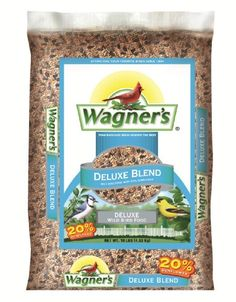 Wagner's 13008 Deluxe Wild Bird Food, 10-Pound Bag - http://birdfeederpole.bgmao.com/wagners-13008-deluxe-wild-bird-food-10-pound-bag