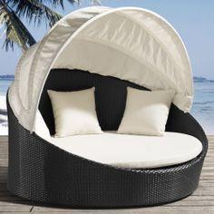 Colva Outdoor Canopy Bed