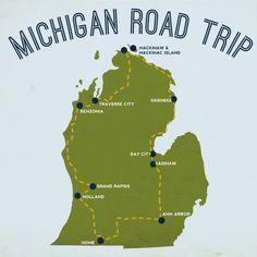 gathered heart: Michigan Road Trip. I am homeward bound.  #puremichigan