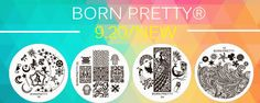 Born Pretty Store Blog: Surly Get Free BORNPRETTY® Series Stamping Plate!