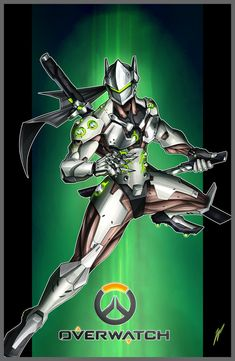 Genji - Overwatch by Puekkers on DeviantArt