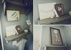 such beautiful details are the finishing touches to this sweet nursery from {on to baby}