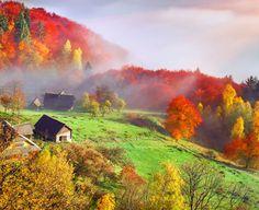 România: peisaje pitorești