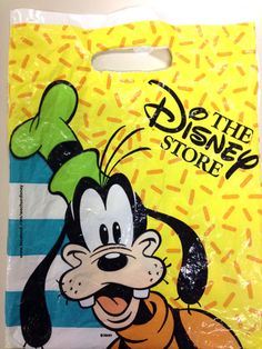 The Disney Store small Goofy bag circa early 1990's