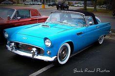 '55 Ford Thunderbird by Back Road Wanderer, via Flickr