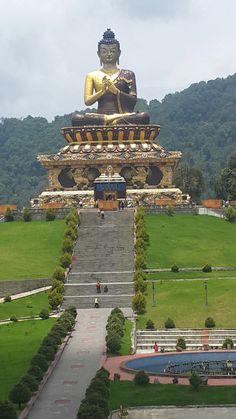 Buddha temple Ravangla Sikkim