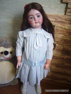 Софья... Антикварная кукла Simon & Halbic, Heinrich Handwerck / Винтажные антикварные куклы, реплики / Бэйбики. Куклы фото. Одежда для кукол
