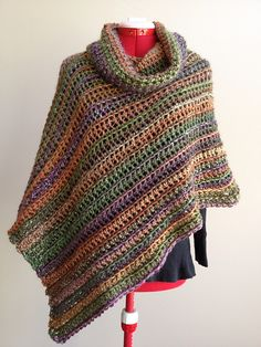 Ravelry: Project Gallery for Collette Poncho pattern by Jenny King