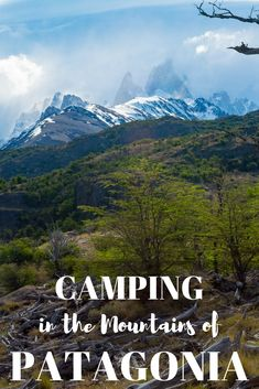 There's no better way to experience Patagonia than camping in the mountains. I was able to see some of the most stunning landscape Argentina has to offer.