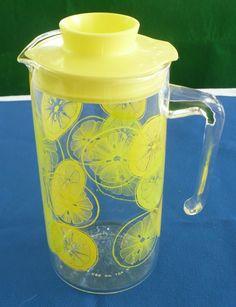 pyrex lemonade pitcher