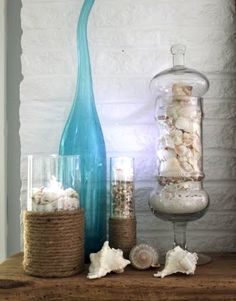 Mantel Decor Beach Style for Summer Time