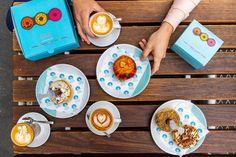 Bistro Morgan- best doughnuts in Melbourne Brand Packaging, Say Hi, Doughnuts, Melbourne, Branding, Meet, Food, Brand Management, Meals