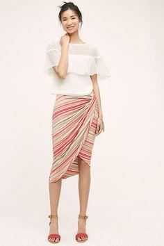 c443310bd946c New Anthropologie Isala Wrap Skirt by Bailey 44 Small Petite Retail $118  #AnthropologieBailey44 #Asymmetrical