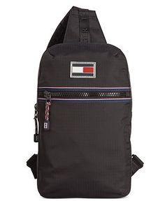 66fd651227 Tommy Hilfiger Ripstop Nylon Sling Bag - Accessories   Wallets - Men -  Macy s Tommy Shop
