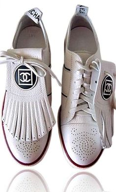 Chanel Oxfords