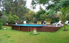 Résultats de recherche d'images pour «piscine semi creusee»