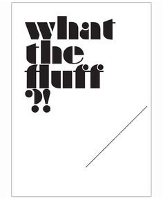 What the fluff?! of Jill Castillo now on JUNIQE!