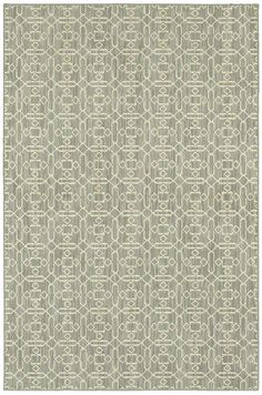 "Area Rug in the HGTV Home Collection style ""Nomadic Elegance"" color grey -by Shaw Floors"