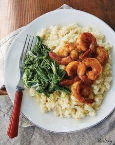 eat clean shrimp grits