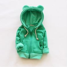 New winter girls outwear jacket long sleeve children jackets hoodies fleece kids…