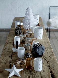 Nordic christmas table
