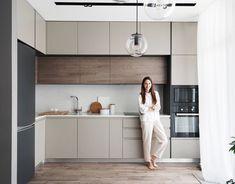 Kitchen Room Design, Kitchen Cabinet Design, Modern Kitchen Design, Living Room Kitchen, Home Decor Kitchen, Interior Design Kitchen, Bar Interior, Modern Kitchen Interiors, Modern Kitchen Cabinets