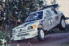 Salonen, Timo FI - Harjanne, Seppo FI Peugeot 205 Turbo 16 E2 Peugeot Talbot Sport