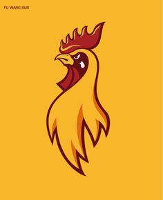 50 Creative Rooster Logo Designs for Inspiration - 36 #roosterlogo #chickenlogo #cocklogo #logodesign #vectorlogo