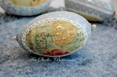 Easter egg Easter eggs in a romantic style  Easter by Bettineum, $25.00