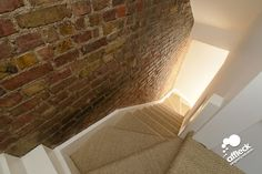 Love the exposed brick up the shared wall obviously not the staircase though
