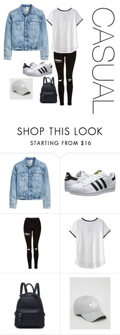 """""""Casual"""" by alishabbarton on Polyvore featuring adidas Originals, Topshop and adidas"""