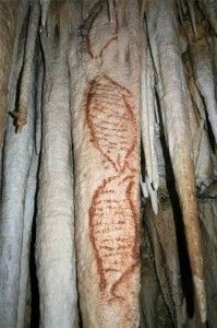 Oldest human paintings made by Neanderthals over 42,000 years ago.