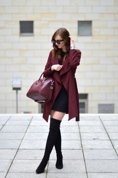 80 beautiful winter outfit ideas to give you some inspiration on how to do winter fashion and still keep warm,look chic and super stylish. Fashion Mode, Look Fashion, Fashion Outfits, Fashion Trends, Fall Fashion, Petite Fashion, Fashion Bloggers, Curvy Fashion, Fashion Fashion
