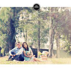 Aya & Boy Prewedding Session, Outdoor, Balekambang, Picnic, Fun, Couple, Lover, Solo, Indonesia by WOOW Photocinema