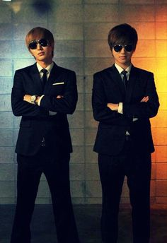 SuJu MIB Yesung and Leeteuk