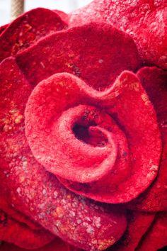Hand Made Felting Art Bag / Frida garden. от mariasoloveyfelt