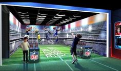 Check out pictures of the new NFL Experience Times Square = A new interactive experience will be popping up in New York City later this year. On Wednesday morning, pictures of the NFL Experience Times Square were finally revealed. The futuristic landscape will…..
