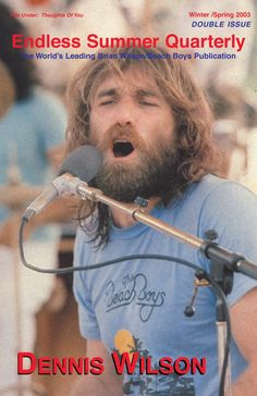 Endless Summer Quarterly – The Beach Boys Publication of Record Carl Wilson, Dennis Wilson, Wilson Brothers, America Band, Mike Love, Music Bands, Music Music, Soft Heart, Beach Images