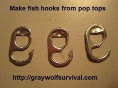 Very few places on Earth don't have trash. If you're in a survival situation and have water available, being able to make fish hooks can mean the difference between eating bugs and eating yumminess.