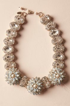 Opal Blossom Necklace from @BHLDN