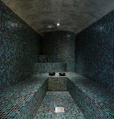 Steam Room 'el viento' by otto medem arquitectura, madrid, spain