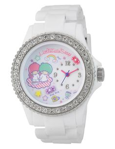 【2014】Watch (¥3,800)(Manufacturer: Sun Flame, 3.9cm diameter × 1.3cm) ★Little Twin Stars★